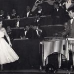 1956 Aldo Pagani accompagna con il suo vibrafono una giovanissima Wilma De Angelis - Saronno