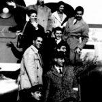 Ci imbarchiamo per la tournee su DC6 dell'Alitalia - 30 Ottobre 1957