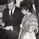 Anni '50 Il primo incontro tra Angela e Gerry Mulligan - New York