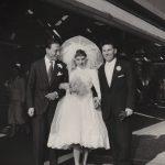 1958 Angela e Aldo sposi. Testimone il grande Renato Carosone