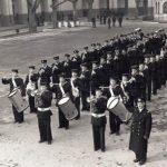 1953 Aldo Pagani è primo tamburo della Banda della Marina Militare