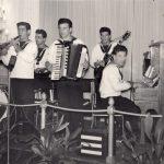 1953 Aldo Pagani, al pianoforte, in concerto a La Spezia con l'orchestra della Marina Miltare