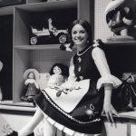 """Anni '60 Angela conduce la trasmissione RAI TV """"La Bottega di Mastro Bum"""""""