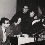 1965 Angela, Franco Franchi, Nelly Fioramonti e Gino Corcelli alle prove del loro spettacolo