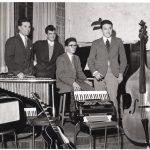 1954 Aldo Pagani, al vibrafono, con il suo primo gruppo