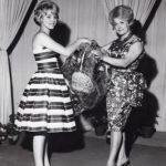 Anni '60 Angela e Flo Sandon's ad un festival della canzone