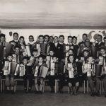 Fine anni '50 - Aldo inaugura la sua scuola di musica a Saronno