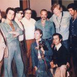 1974 Aldo Pagani con Astor Piazzolla, Gerry Mulligan, Amelita Baltar, Pocho Perez e un giovanissimo Tullio De Piscopo