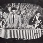 1957 Aldo Pagani suona la marimba durante un concerto a Palermo per RAI TV