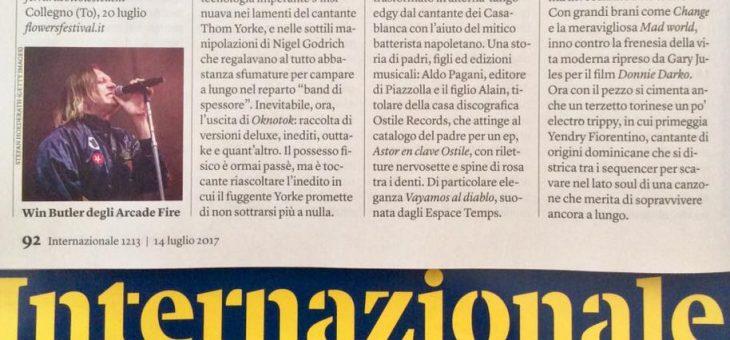 A. Pagani su Internazionale!