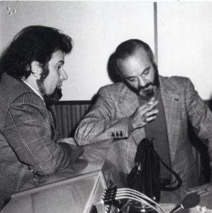 SI Con Astor Piazzolla, frima del contratto