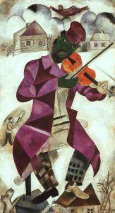 il violinista verde chagall