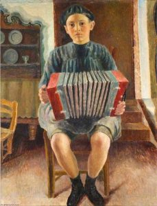 Dora-Carrington-Spanish-Boy-the-Accordion-Player