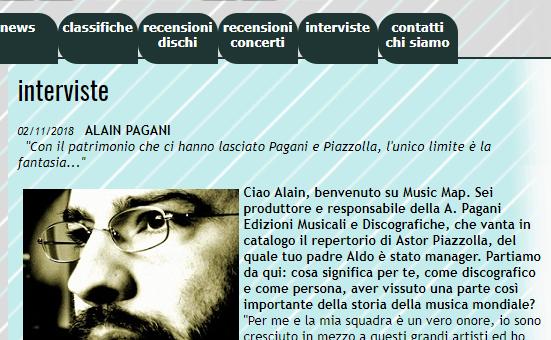 Music Map intervista Alain Pagani